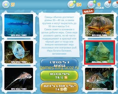 Тайны морских глубин уровень 27