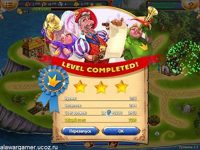 Игра Сказочное королевство 3. Коллекционное издание уровень 1.5 прохождение на три звезды.